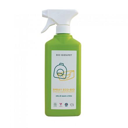 Eco-Bio Spray Elimina Odori Sanitizzante con olio di Neem e Timo – BIO IGIENIPET