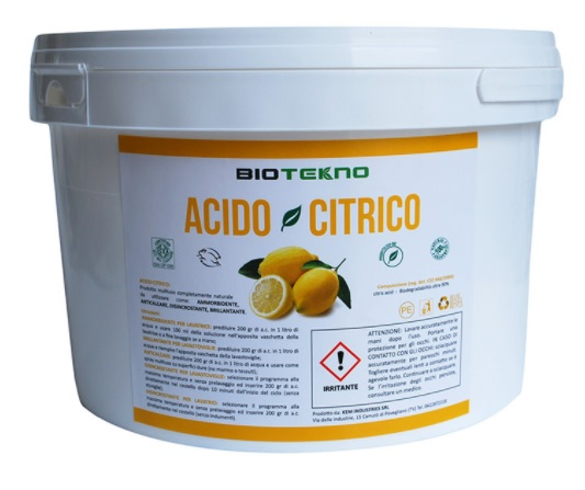 Acido Citrico monoidrato puro – BIOTEKNO