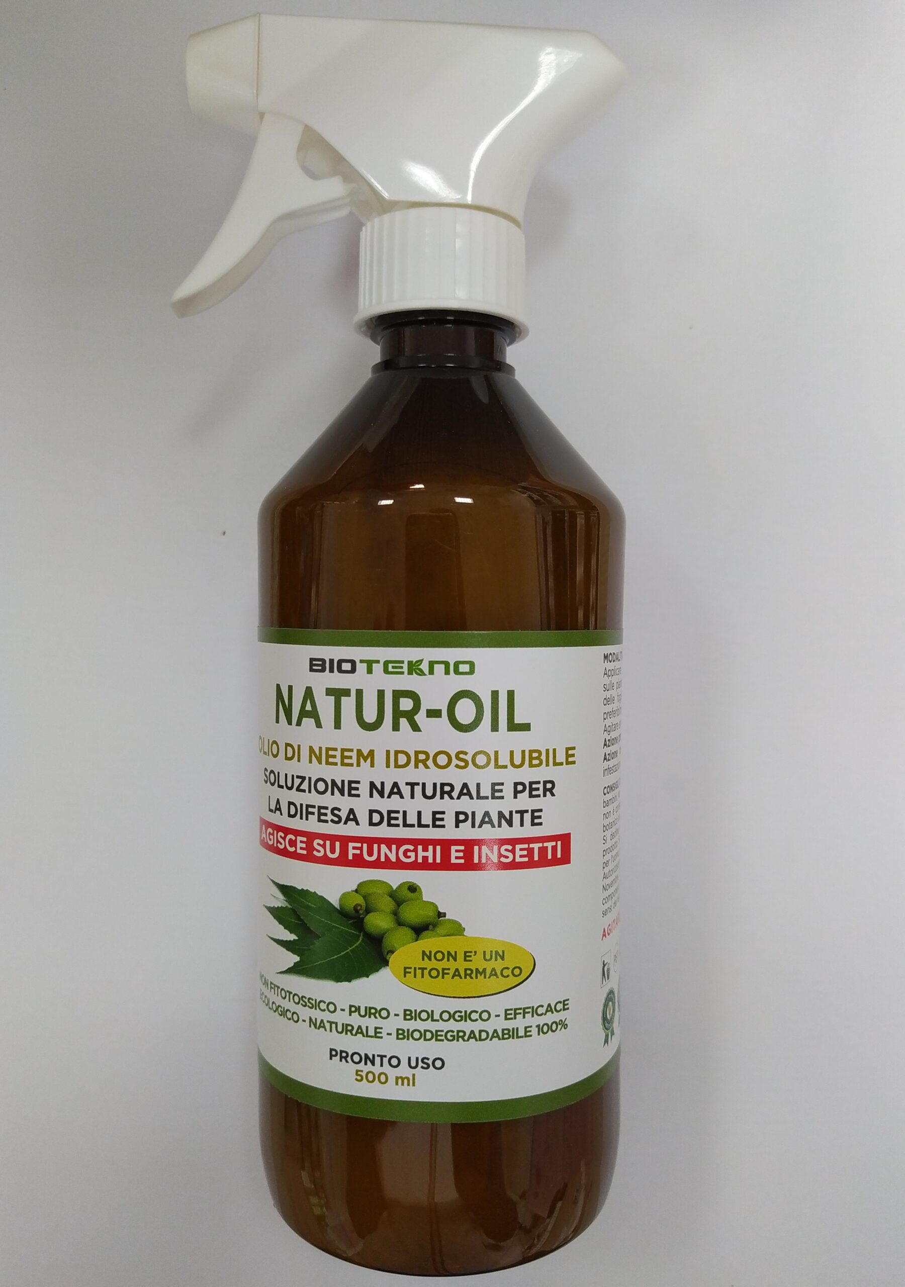 Olio di Neem Idrosolubile per piante – NATUR-OIL BIOTEKNO
